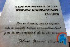 Monumento a las Brigadas Internacionales