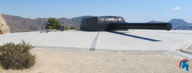 Batería militar de Castillitos