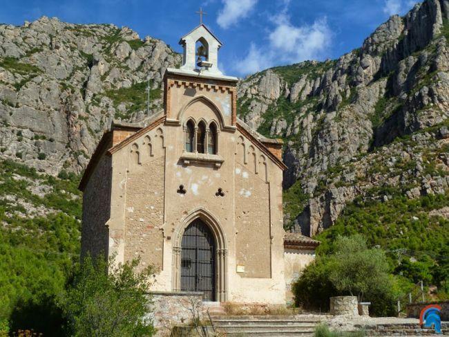 Ermita de la Salud, en Collbató
