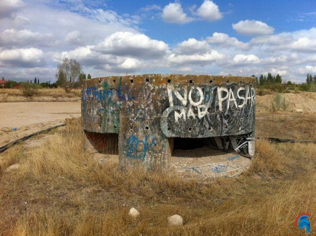 Bunker de la UNED en Las Rozas
