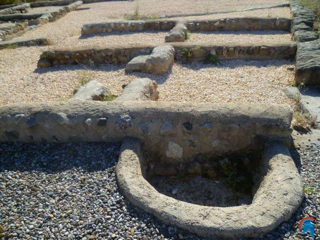 Yacimiento arqueológico del Pla de Almatà. Balaguer