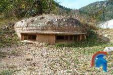 Bunker número uno del Parque de Bunkers de Martinet y Montella