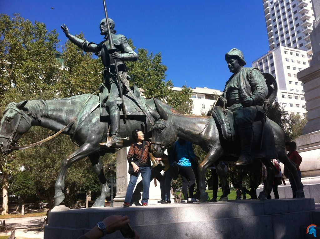 Monumento a Miguel de Cervantes de Madrid