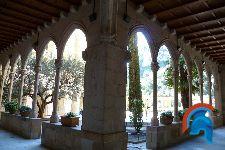 Claustro gótico de Montserrat