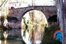 Puente sobre el río Tajo en Trillo