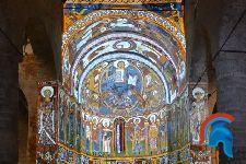 Pinturas del ábside de San Clemente de Tahull