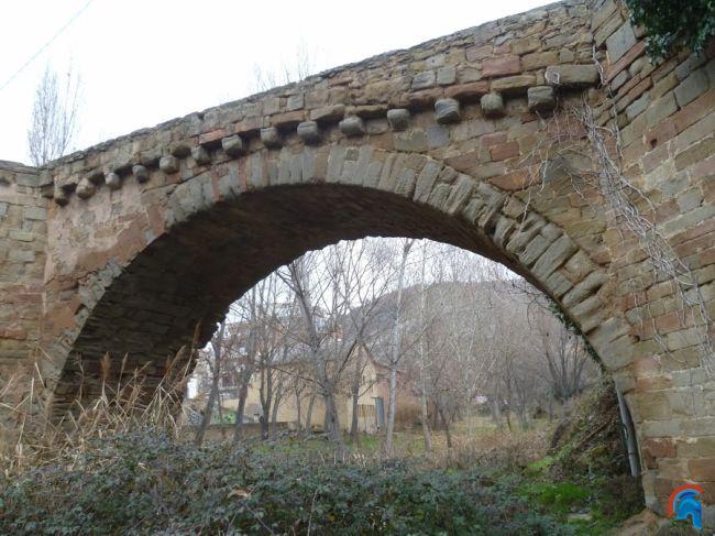 Puente Medieval de Sanaüja