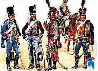Los ejércitos enfrentados durante la guerra