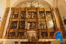 Retablo de la Iglesia de San Andrés de Valdescapa