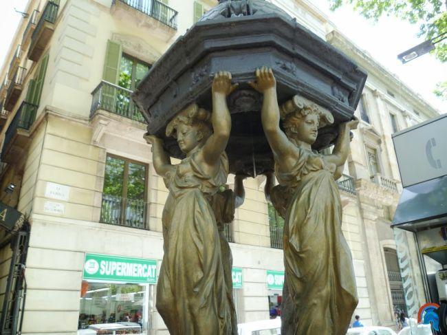 Fuentes Wallace de Barcelona