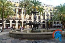 La Plaza Real de Barcelona