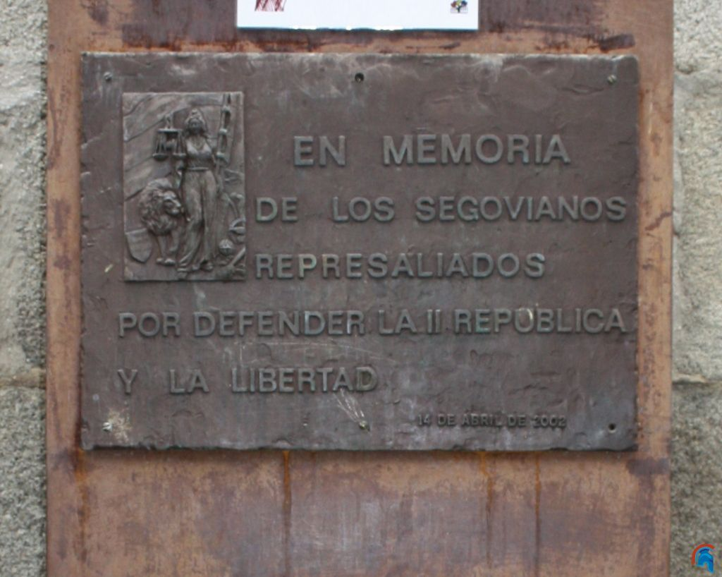 Monumento a los republicanos represaliados Segovia