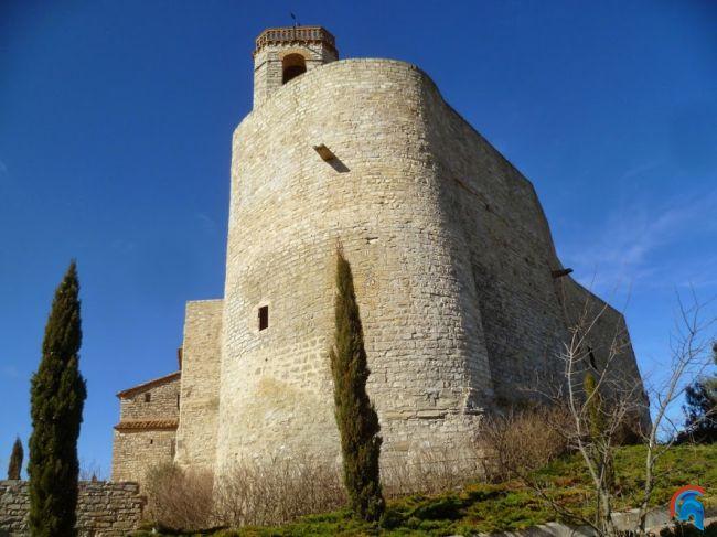 Iglesia de Sant Pere en Montfalcó Murallat