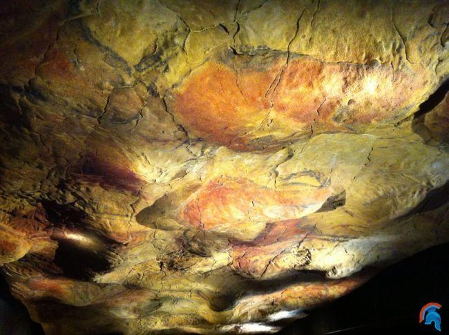 Reproducción de la cueva de Altamira en el MAN