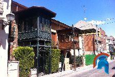 Casas modernistas en el barrio de Ventas