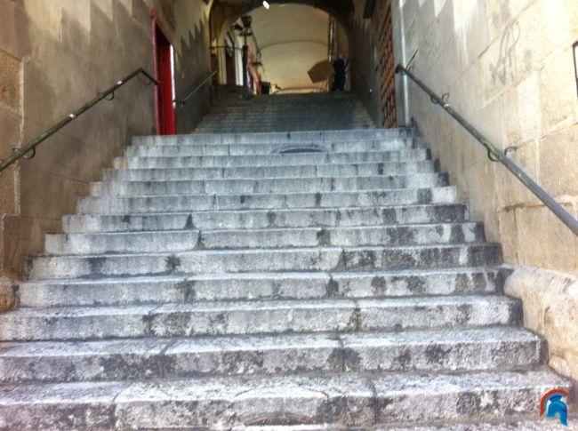 Calle de la Escalerilla de Piedra