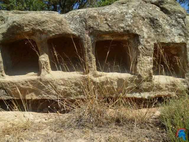 Columbario romano en Montcortés-Aranyó