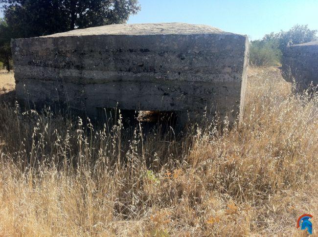 Bunkers Cerro de los Gamos