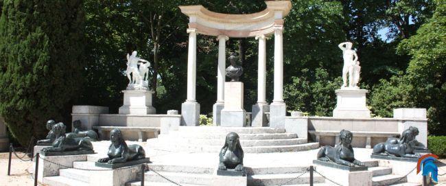La Plaza de los Emperadores y la Exedra