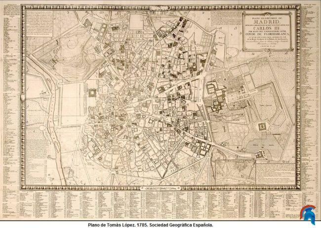 Carlos III y su labor en la ciudad de Madrid
