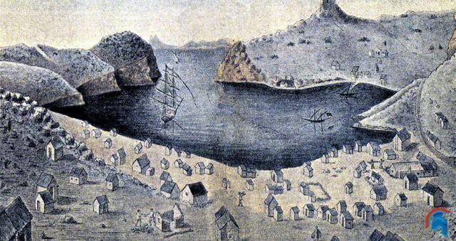 Un campo de prisioneros en la isla de la Cabrera