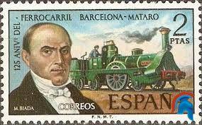 ¿Cuál fue el primer tren español en la península?