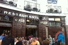 Tabernas centenarias de Madrid
