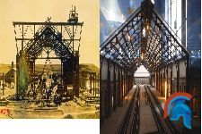 Arquitectura de hierro, estaciones de Madrid