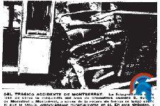 Accidente en el tren cremallera de Montserrat