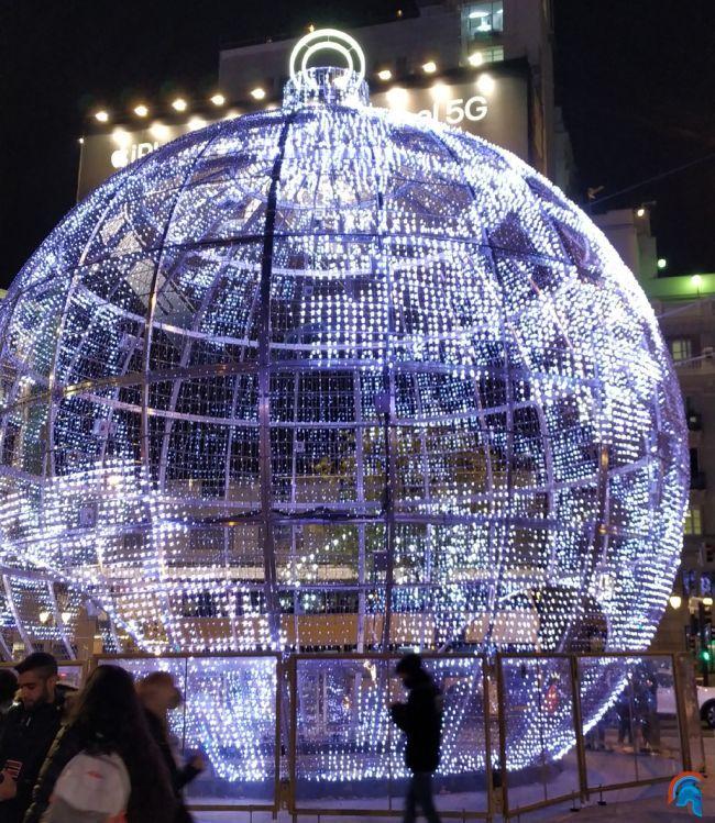 Madrid iluminada por Navidad