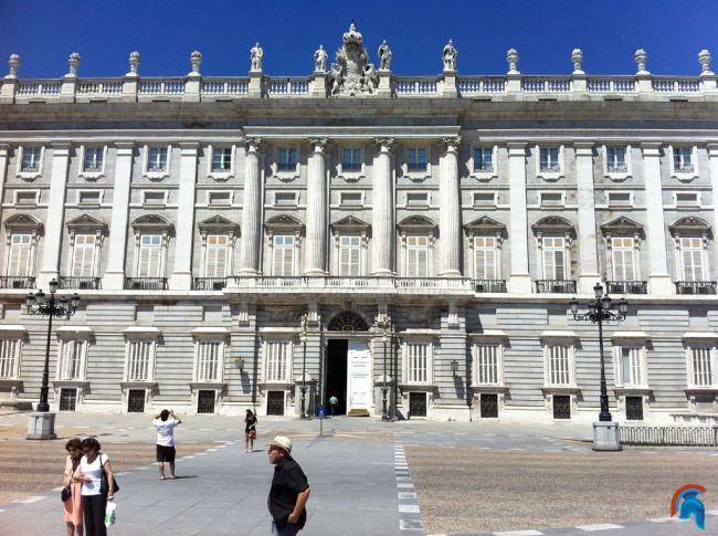 Palacio Real de Madrid o Palacio de Oriente