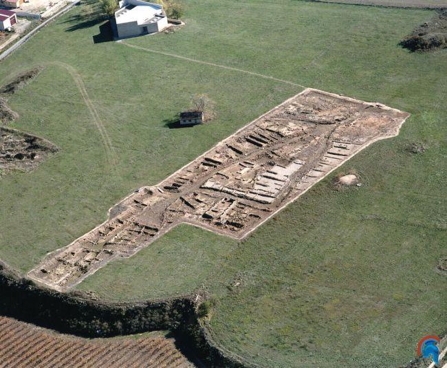 La hoya poblado de la edad de Hierro Laguardia, Álava