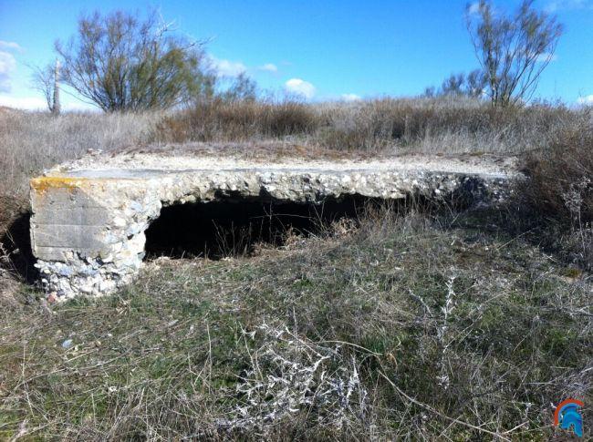 Bunkers franquistas en Las Rozas