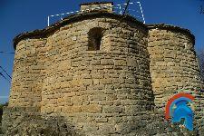 Castillo de Sant Oisme - Iglesia de San Bartolomé