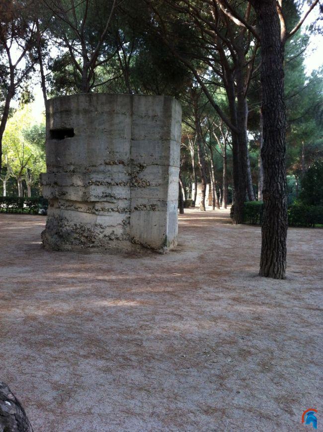 Bunkers Parque del Oeste Madrid