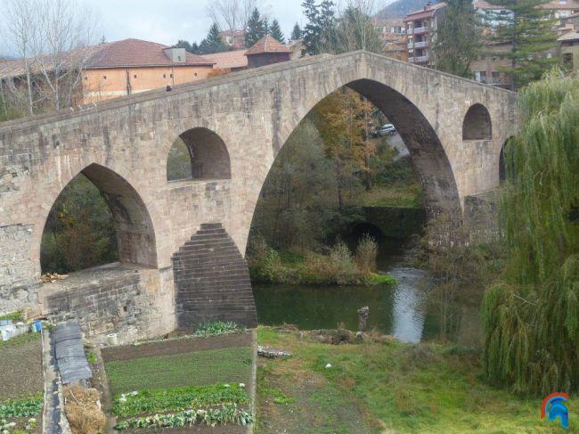 Pont Vell,Puente Viejo Sant Joan de les Abadesses
