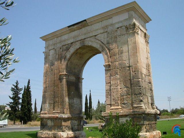 Arco romano de Bará