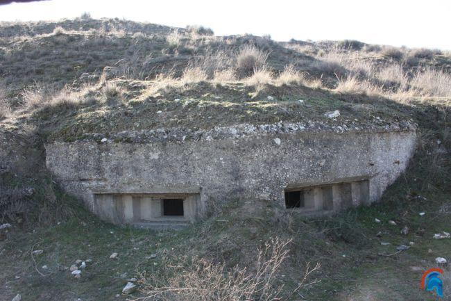 Bunker hexagonal en Titulcia 1