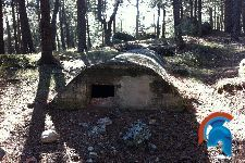 Bunker de mando embalse de la Jarosa