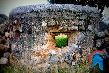 Bunker Fresnedilla de la Oliva en la carretera de Robledo de Chavela