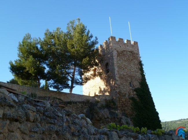 Torre del castillo de Nuévalos