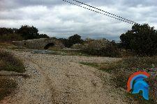 Bunker en la entrada de Navalagamella