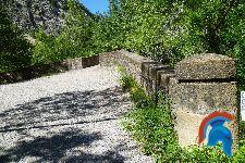 Puente y molino del Monasterio de Obarra