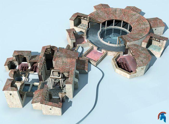 Los Baños Romano La Hedionda:El yacimiento romano de los Baños de la Reina ubicado en Calpe es un